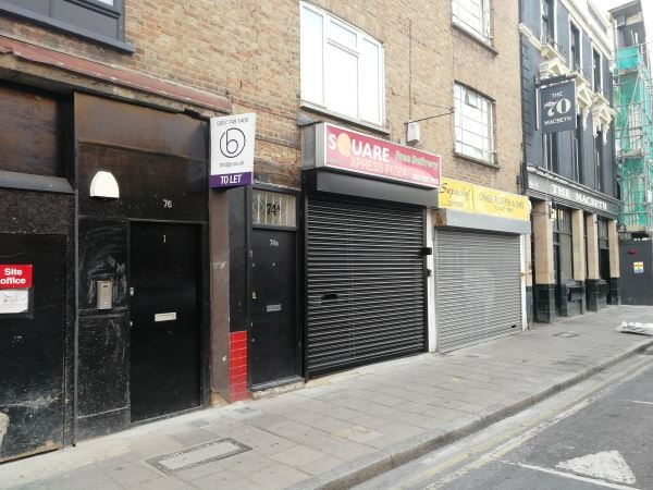 Hoxton street retail premises to let